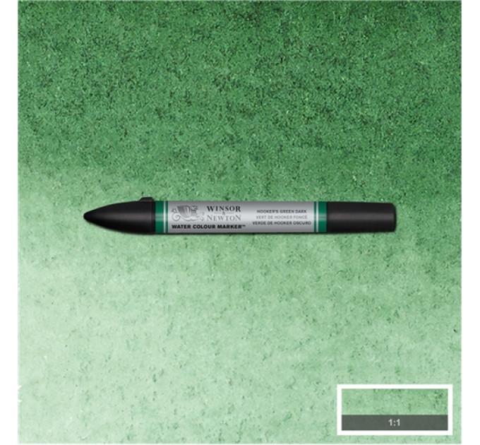 Маркер акварельный Winsor & Newton, № 312 Темно-зеленый хукер