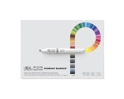 Склейка Pad для маркеров Pigment marker 27,9х35,6 см W&N 50 л