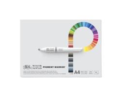 Склейка Pad для маркеров Pigment marker 17,78*33,02 см W&N 50 л
