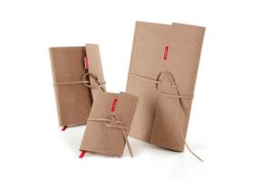 Блокнот COPIC со сменным блоком Sense Book Flap+Refill, 14х21 см, А5, 135 листов, 80г