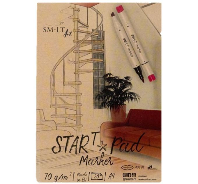 Склейка для маркеров STAR T А4 70 г/м2 20 л SMILTAINIS