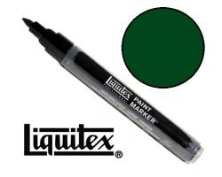 Акриловый маркер Liquitex, Paint Marker 2 мм, №224 Hooker's Green Hue Permanent