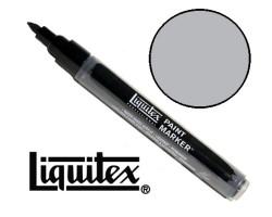Акриловый маркер Liquitex, Paint Marker 2 мм, №239 Iridescent Rich Silver