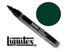 Акриловый маркер Liquitex, Paint Marker 2 мм, №317 Phthalocyanine Green