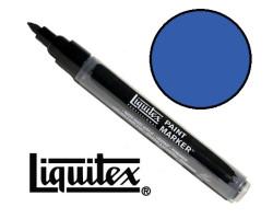 Акриловый маркер Liquitex, Paint Marker 2 мм, №381 Cobalt Blue Hue